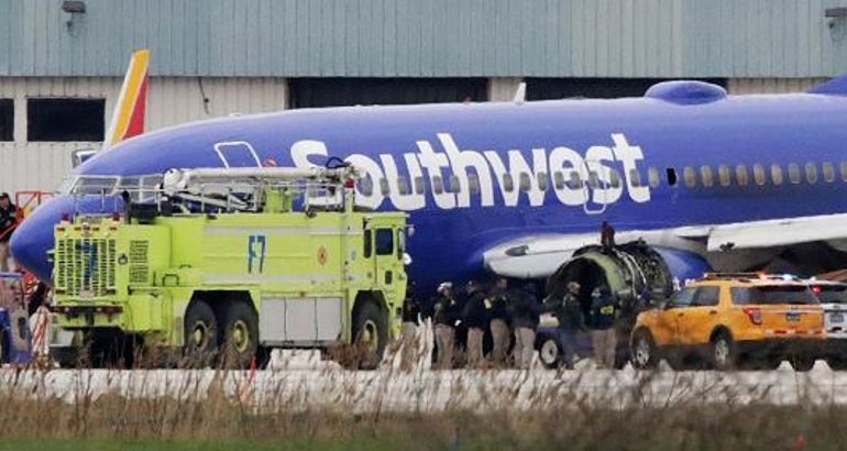 Southwest warns about drop in bookings after fatal engine failure