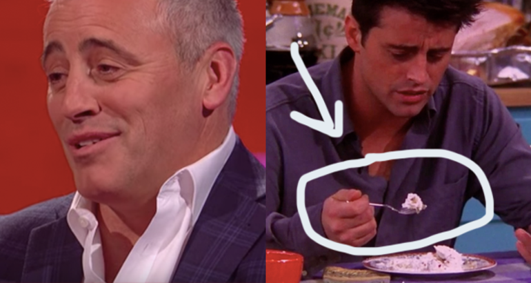 "Matt LeBlanc Told A Story About The Trifle Episode Of ""Friends"" That Is Equally Hilarious And Horrifying"