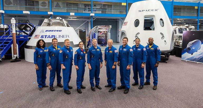 NASA Names Astronauts for Boeing and SpaceX Flights to International Space Station