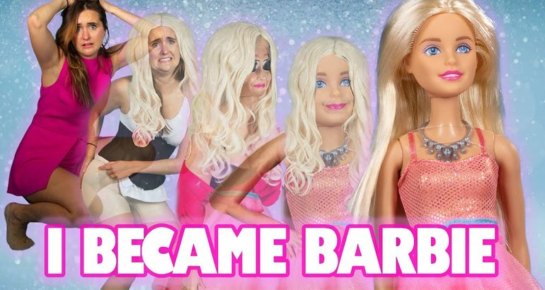 I Transformed Myself Into A LifeSized Barbie