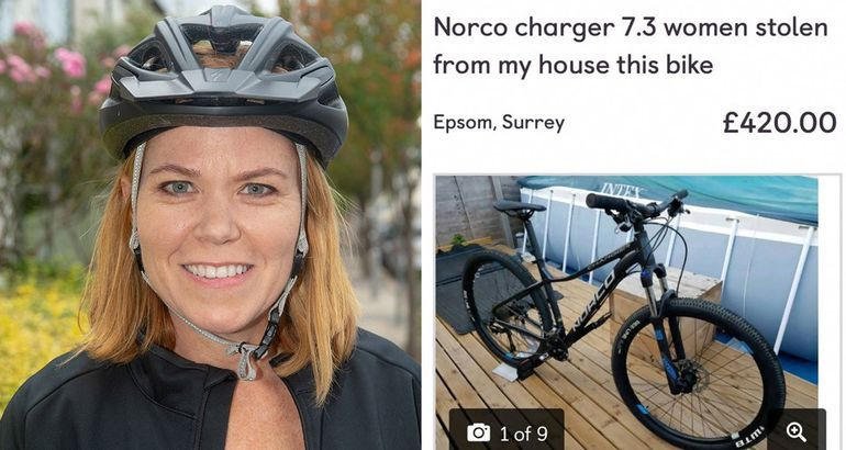 Girl had her bike stolen so she hatched a brilliant plan to 'take' it back (10 Photos)