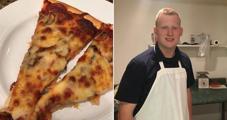 Pizza driver goes on an epic road trip to fulfill a dying wish (7 Photos)