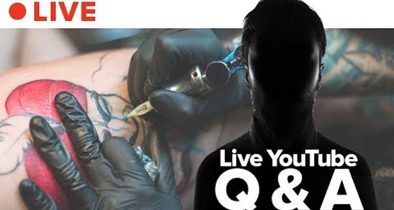 Ask Tattoo Artists Anything LIVE