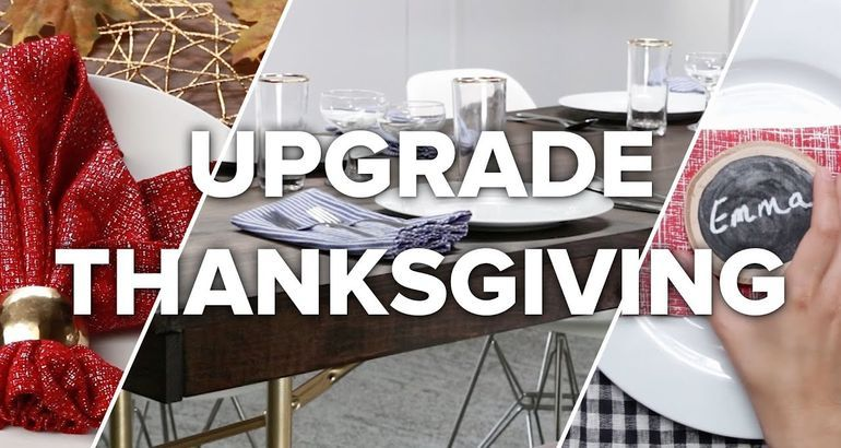 7 Ways To Upgrade Thanksgiving (That Arent Food)