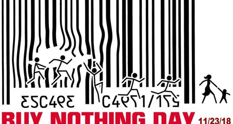 Black Friday may be dying, but Buy Nothing Day is still going strong