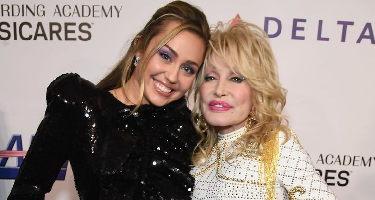 Dolly Parton and Miley Cyrus May Not Be Blood-Related, but Their Bond Is Pretty Damn Special