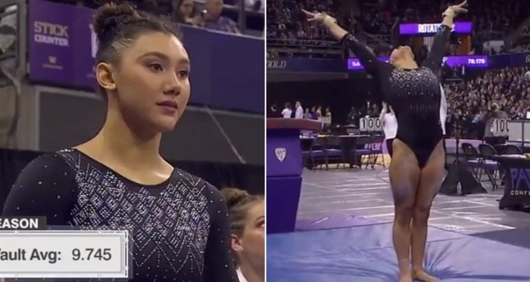 Olympic Gold Medalist Kyla Ross Still Has It, and This Perfect 10 on Vault Is Proof