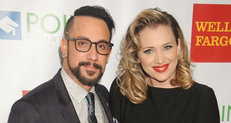 I'll Admit AJ McLean and His Wife Are Really Cute - Even Though I Wish It Were Me
